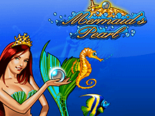 Автоматы Mermaid's Pearl в онлайн казино Чемпион