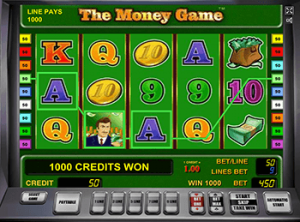 The Money Game в онлайн казино Чемпион