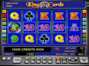 Игровые аппараты King of Cards