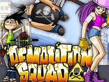 Играйте и зарабатывайте - слот Demolition Squad